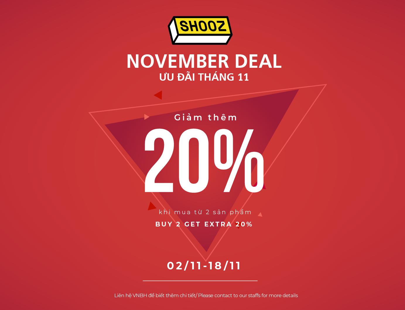 SHOOZ – HOT NOVEMBER DEAL!!!